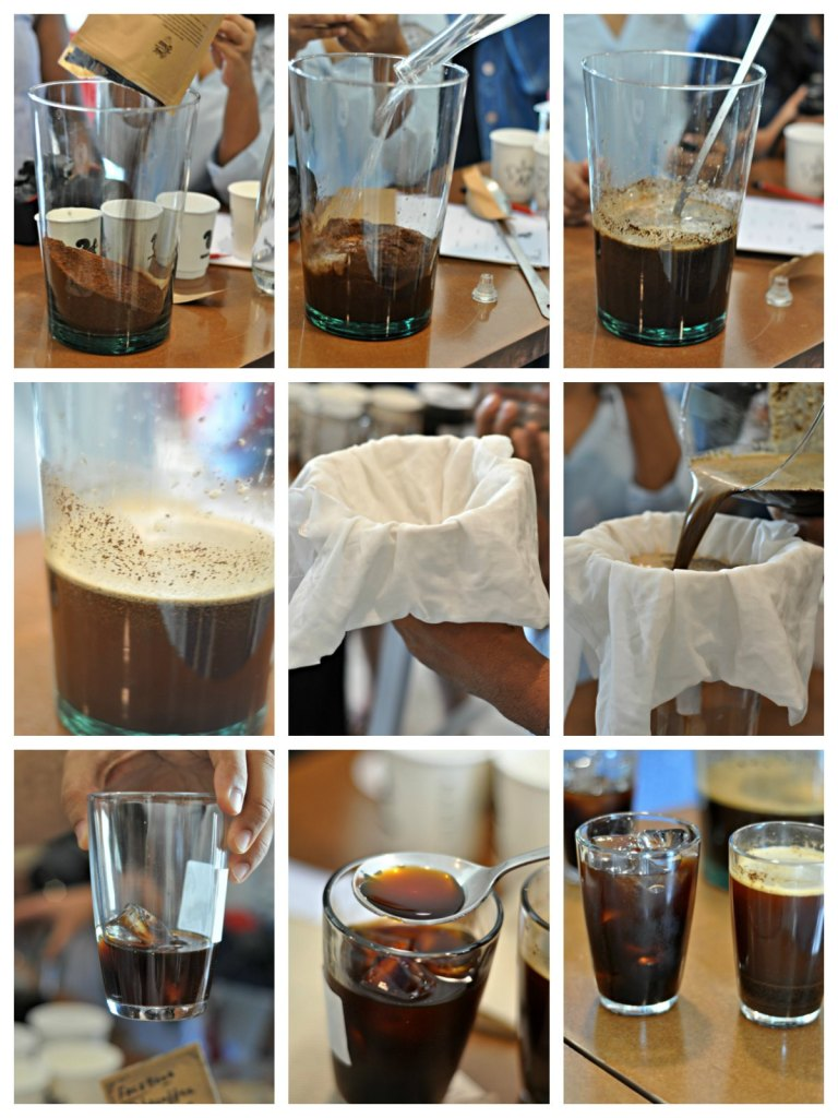 Making of Cold Brew Coffee