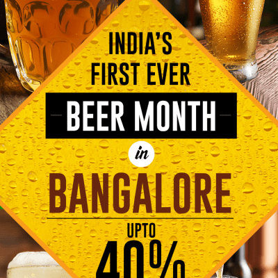First Ever Bangalore Beer Month by Dineout