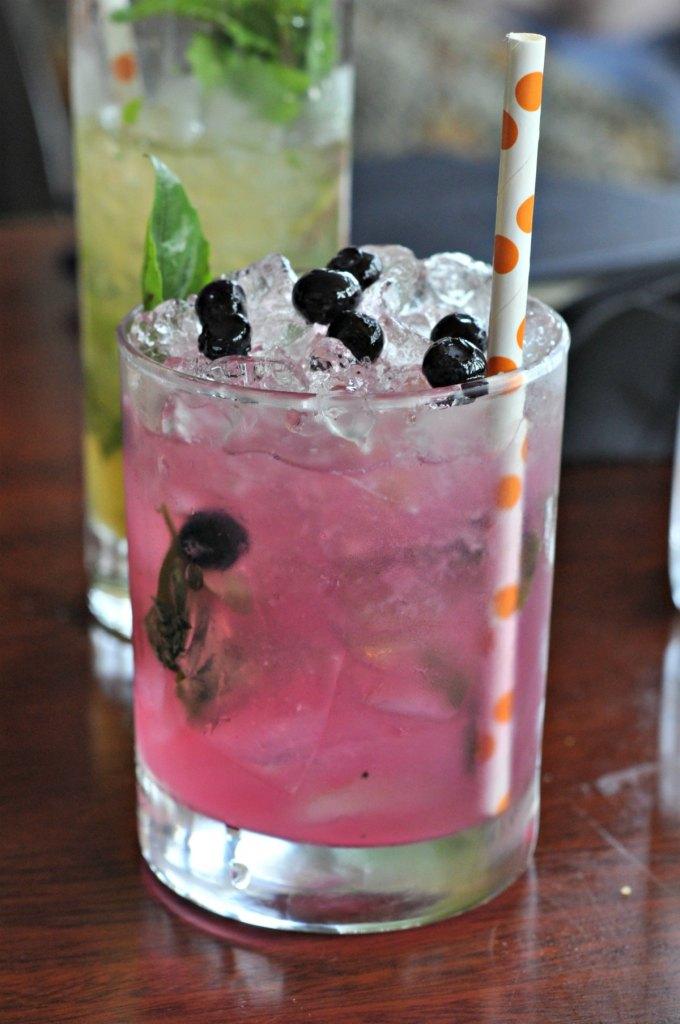 Berry Basil Caprioska