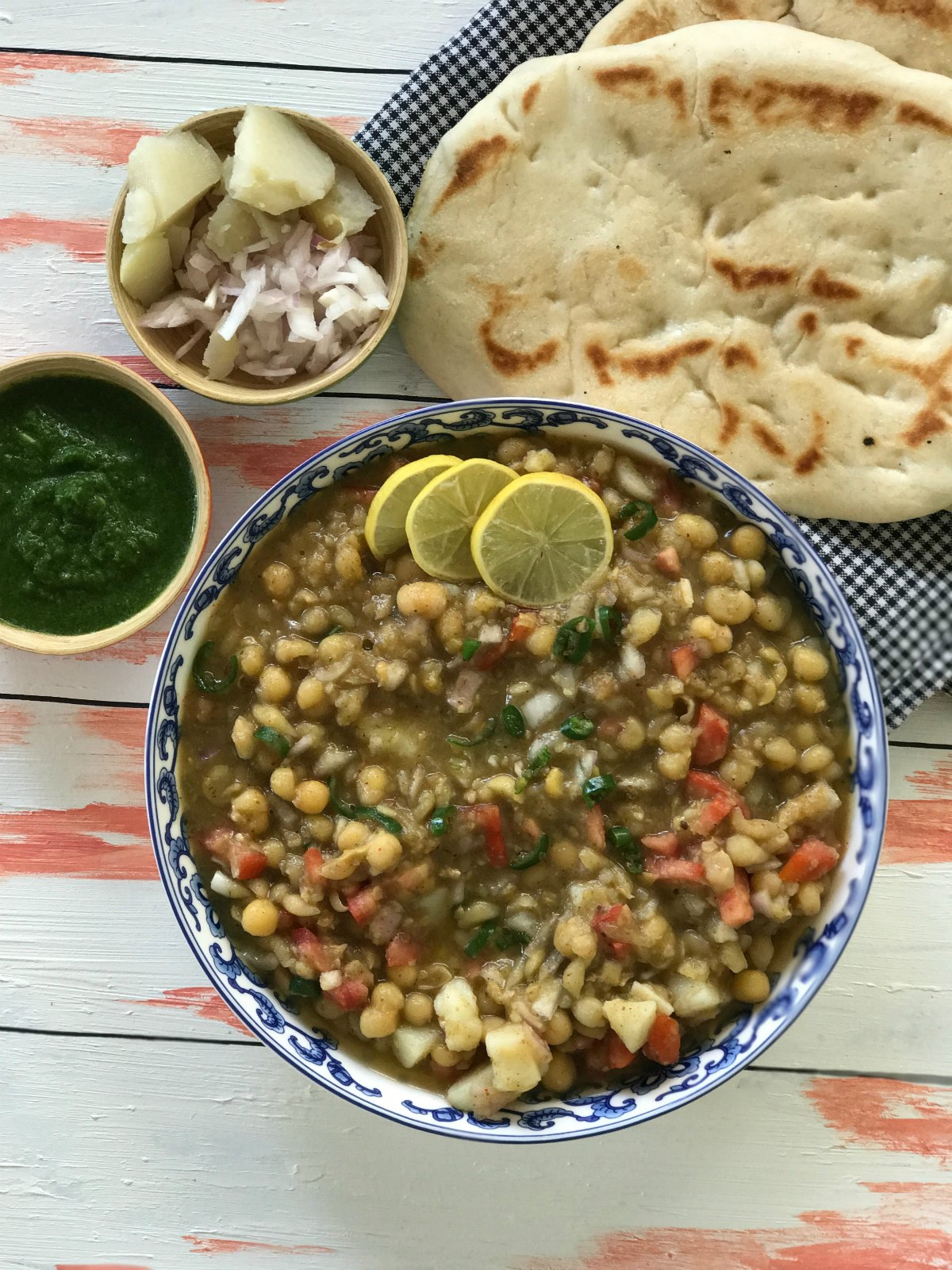 Delhi style matar kulcha street food series sinamon tales forumfinder Images