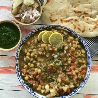 Delhi Style Matar Kulcha | Street Food Series
