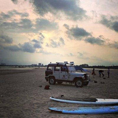 Of Surfing Vacation at Mahabalipuram and turning 41
