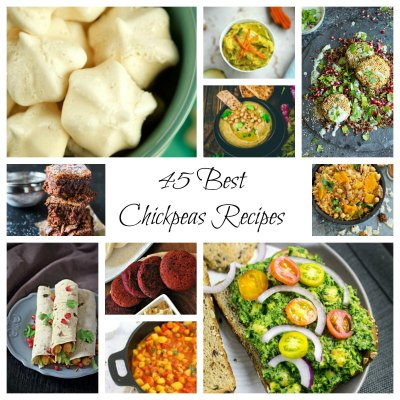 45 Easy and Best Chickpeas Recipes