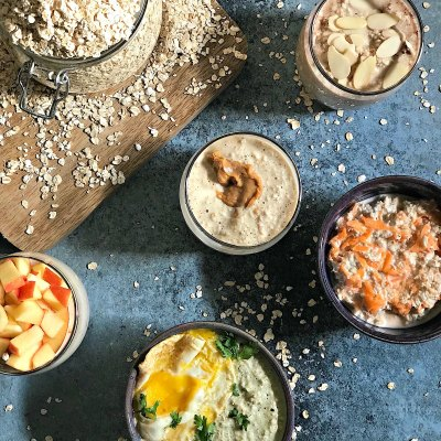 Overnight Oats :Taking the first step has never been so easy