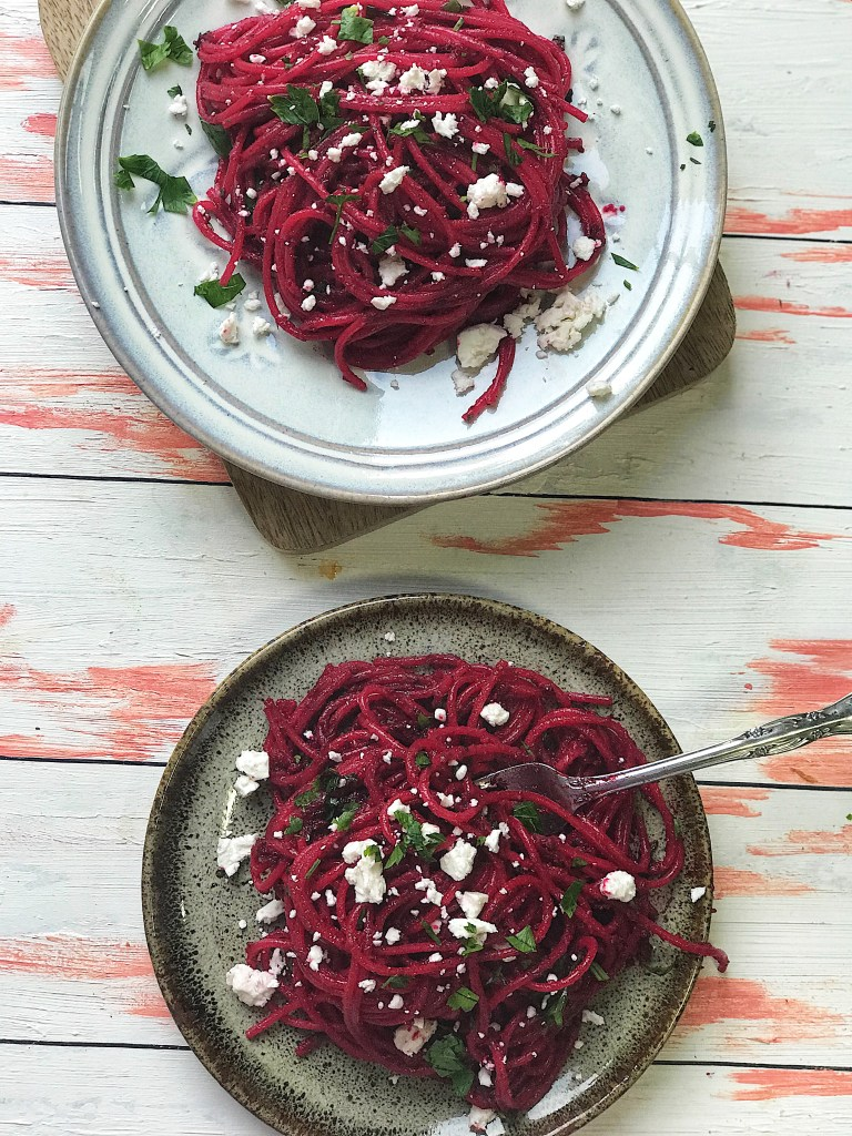 Beetroot pasta recipe