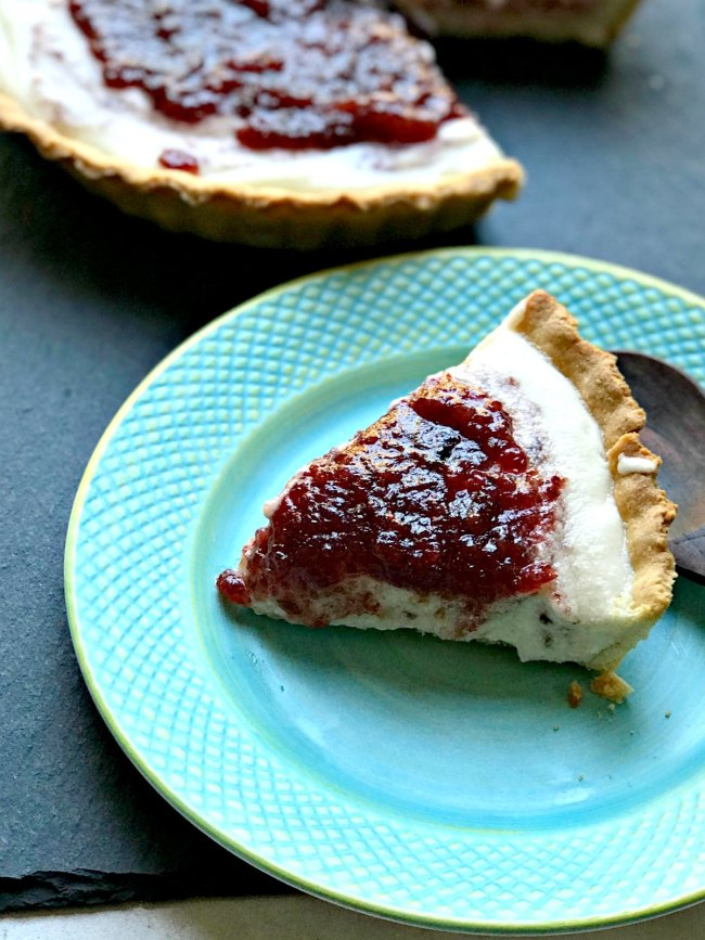 Cranberry Cheesecake Pie recipe