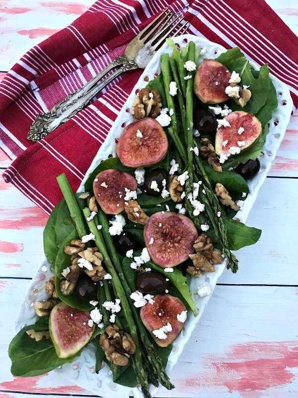 Fig and Asparagus Salad