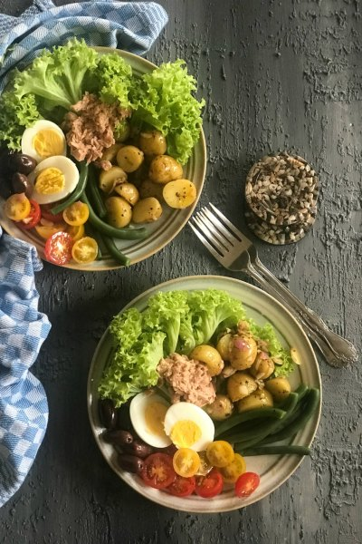 Salad Nicoise -The Original Composed Salad
