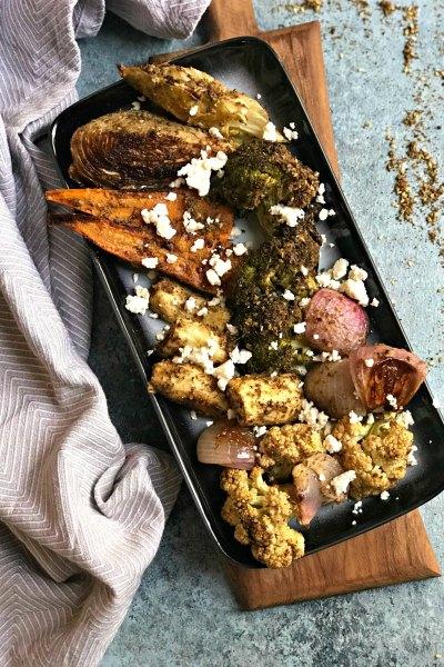 Zaatar Roasted Vegetables