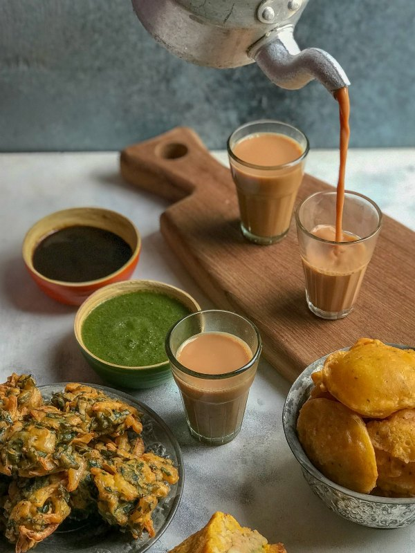 Chai Pakoda Day