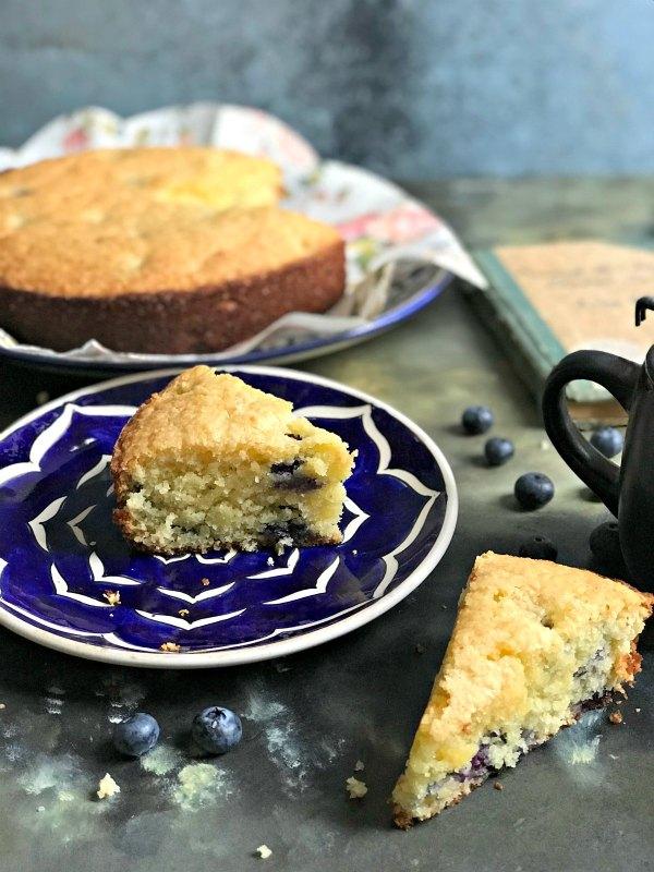 Almond Blueberry Cake