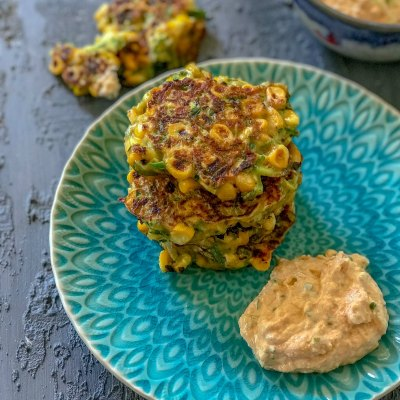 Easy & Delicious Zucchini Corn Fritters