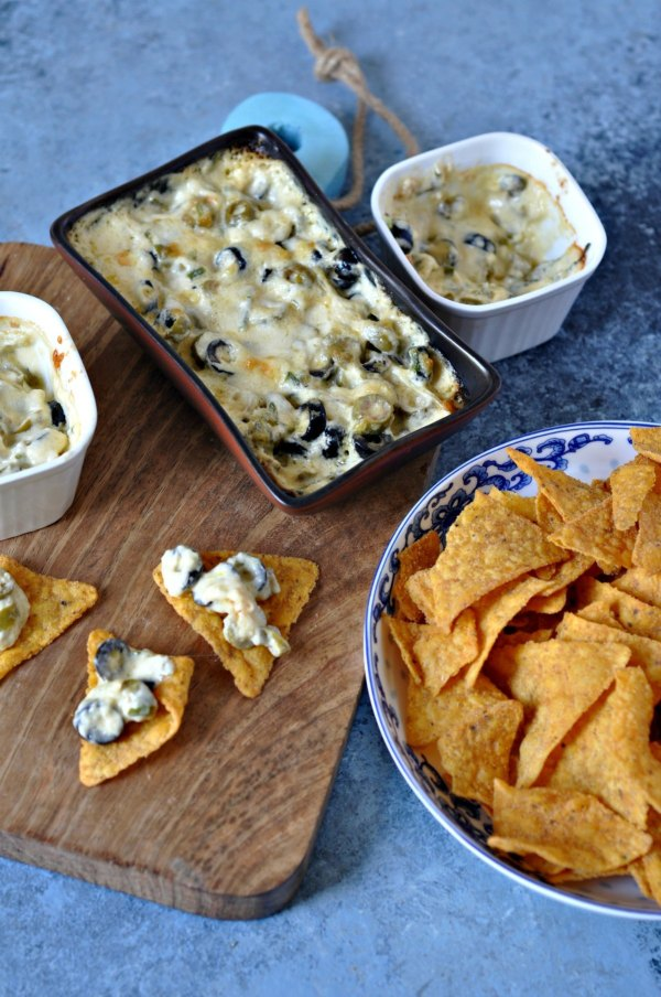 Cheese-and-Olive-Dip