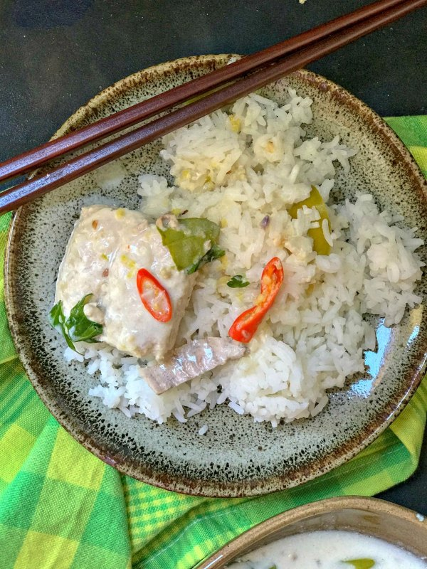 Easy Thai Fish Curry