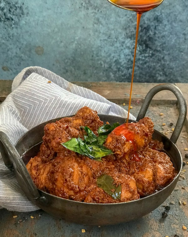 Mangalore Chicken Ghee Roast