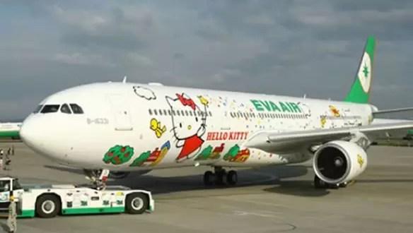 Aviones Hello Kitty