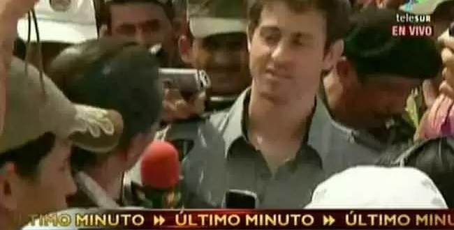 Las FARC liberan al periodista Romeo Langlois