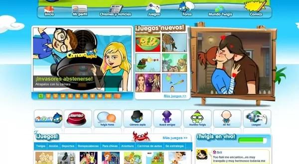 Nuevo sitio web de entretenimiento para niños