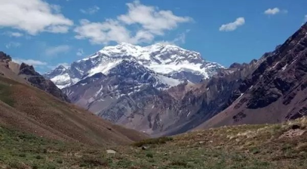 El Aconcagua cada vez más alto, creció dos metros