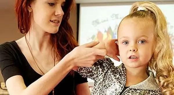 Inglaterra tiene centros de belleza para niños de dos años
