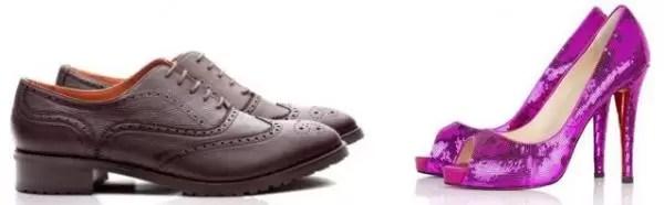 Los zapatos identifican el tipo de personalidad de las personas