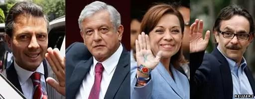 Apuestas en Internet por la elecciones de México