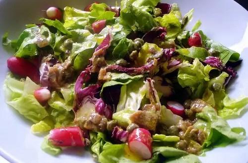 ¿Son mejores las ensaladas con aceite de oliva?