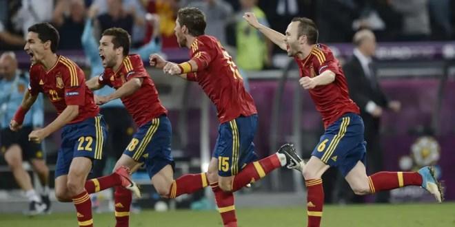 España venció a Portugal y es finalista en la Eurocopa