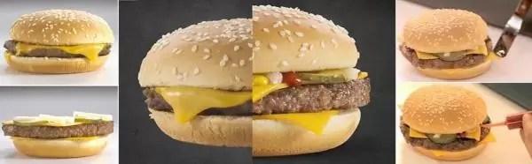 Así es el proceso de maquillaje de las hamburguesas de McDonald's