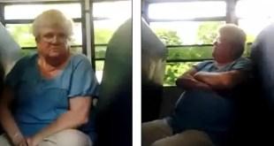 Video: Mujer de 68 años sufre 'bullying' por parte de escolares