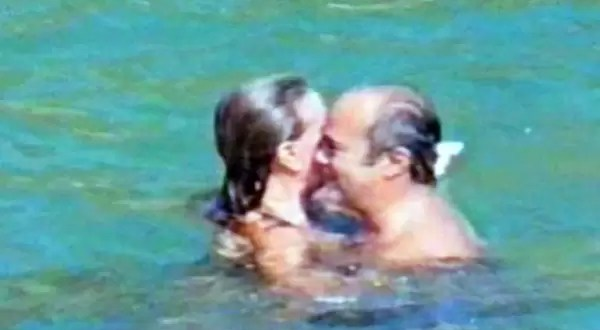 Sorprenden al obispo de Merlo con una mujer en una playa de México
