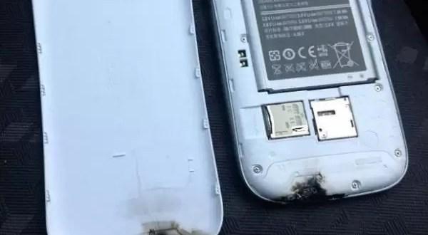 Samsung Galaxy SIII explota solo en el auto