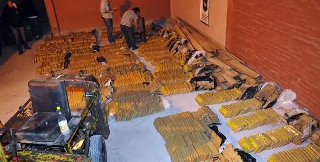 Secuestran mas de 1 tonelada de marihuana