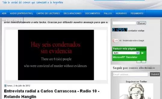 Carlos Carrascosa cuenta la verdad en su propio blog