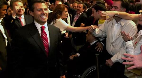 Enrique Peña Nieto gana las elecciones presidenciales en México