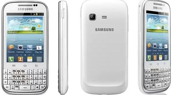 Samsung Galaxy Chat: Características y precios