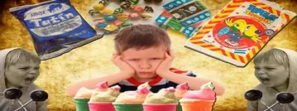 Dulces anti-niños - Las golosinas mas feas