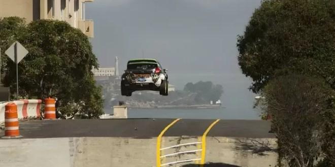 Video: Piloto de rally realiza pruebas callejeras en San Francisco