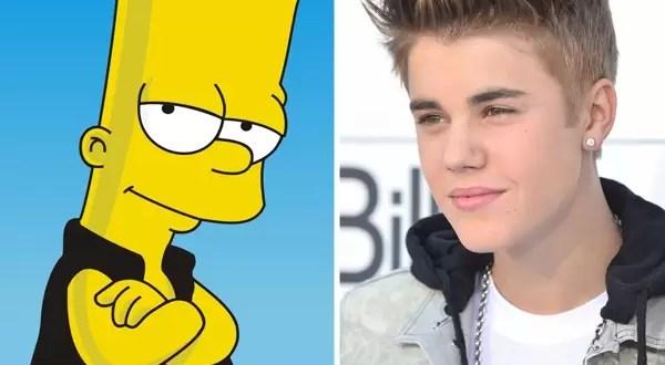 Justin Bieber en capítulo de Los Simpson