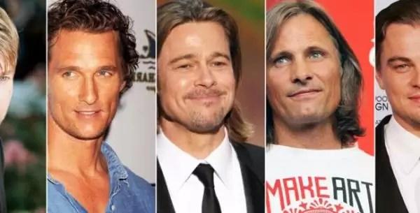Los actores más deseados... y sucios de Hollywood