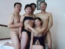 Fotos polémicas de funcionarios chinos en orgía