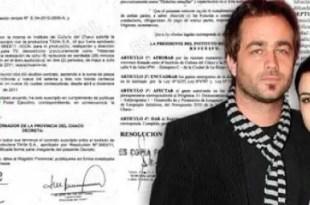 Agustina Cherri recibe 2,5 millones del gobierno de Chaco