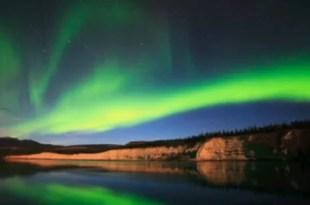 Foto: Espectacular aurora boreal en Canadá