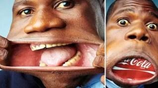 Foto: Ésta es la boca más grande del mundo