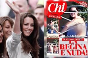 Más fotos de Kate Middleton sin ropa