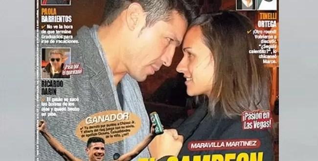 Conoce a la novia de 'Maravilla' Martínez