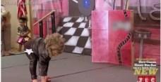 Fotos inquietantes: Niña de cuatro años fuma en concurso de belleza