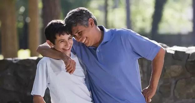 Pasar tiempo con el padre mejora el autoestima