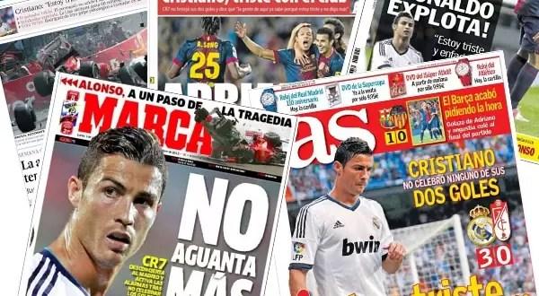 ¿Cristiano Ronaldo se va del Real Madrid?