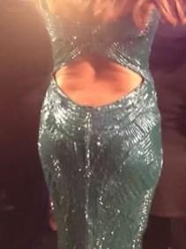 Sofía Vergara explotó su vestido y mostró la cola - Fotos